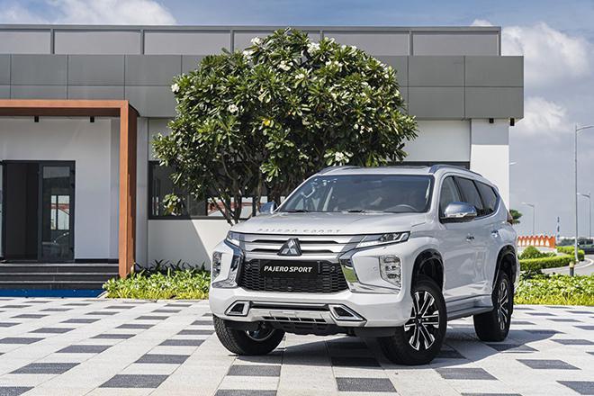 Mitsubishi Pajero Sport phiên bản 2021 được giảm giá tới 120 triệu đồng