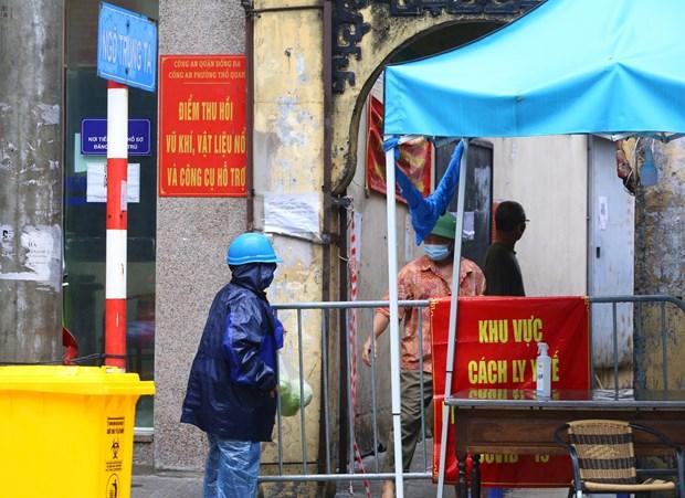 Chiều 15/9: Thành phố Hà Nội không ghi nhận thêm ca mắc COVID-19