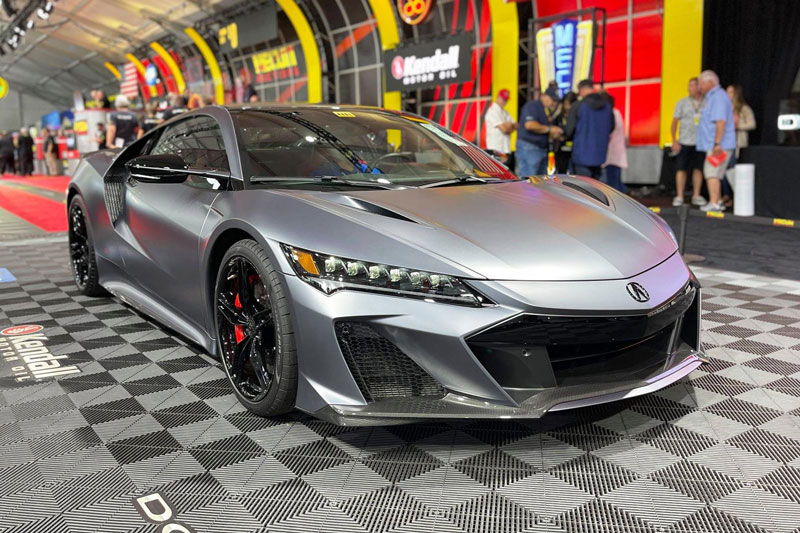 Siêu xe Acura NSX Type S ở Nhật Bản có giá cao gấp 1,5 lần tại Mỹ
