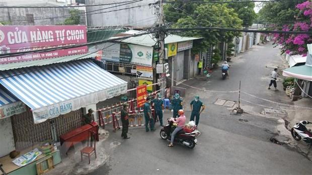 Thành phố Vũng Tàu phát hiện ổ dịch với 28 ca ngoài cộng đồng