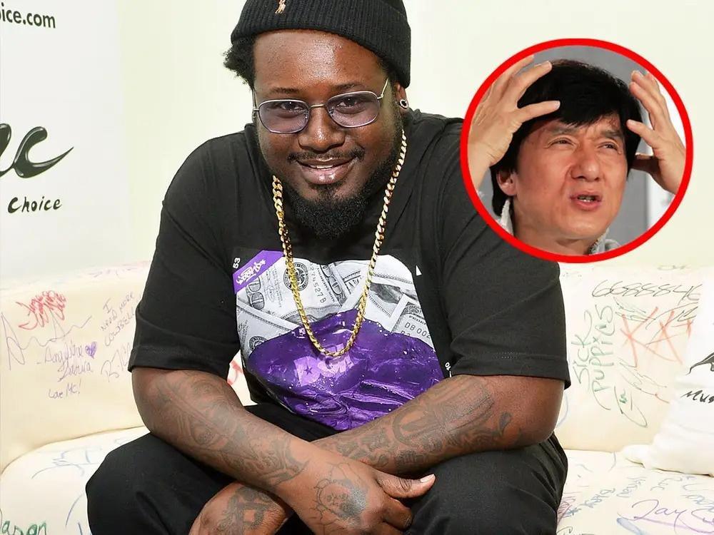 Rapper xăm lên cánh tay hình Thành Long ôm đầu