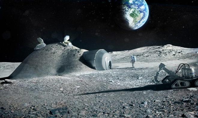 NASA lên kế hoạch tìm kiếm băng trên Mặt Trăng - ảnh 1