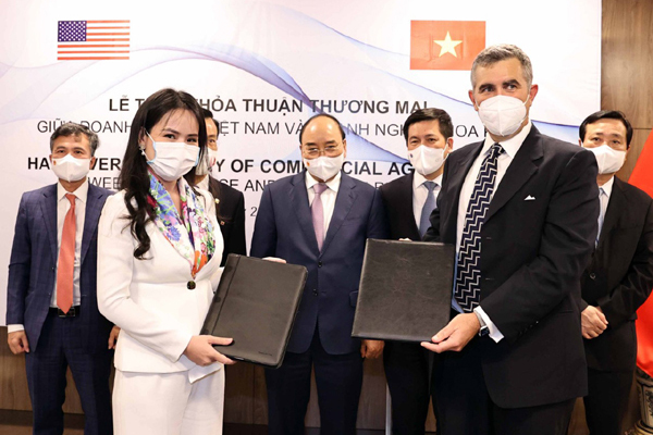 T&T Group và DN Mỹ ký hợp tác thương mại đầu tư hơn 3 tỷ USD - ảnh 1