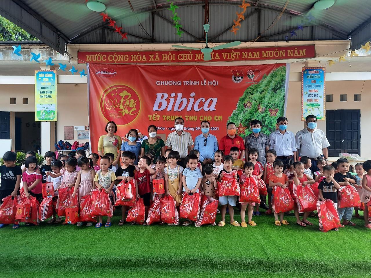 Tết Trung Thu Cho Em – Mùa 2 đã được Bibica triển khai tại 17 tỉnh thành trên toàn quốc