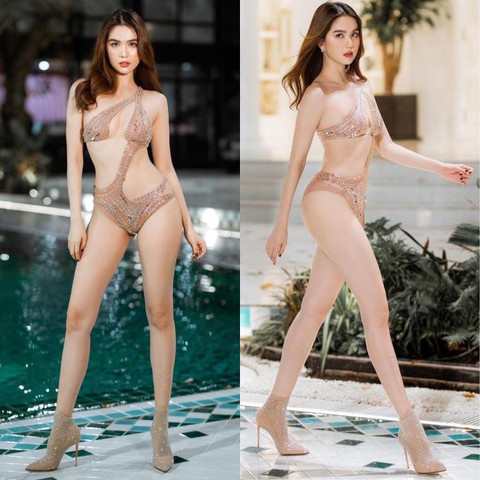 Ngọc Trinh liên tục 'đốt mắt' với loạt bikini 'không thể nóng hơn'