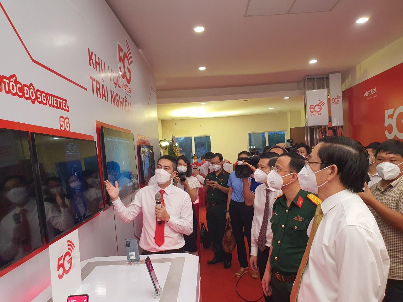 Viettel phủ sóng 5G tại Bà Rịa-Vũng Tàu