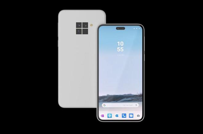 Microsoft có thích thú với ý tưởng điện thoại Surface Duo này?