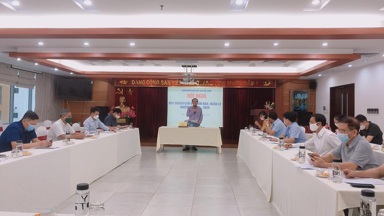 Quy hoạch cán bộ lãnh đạo Hội Luật gia Việt Nam nhiệm kỳ 2024 – 2029