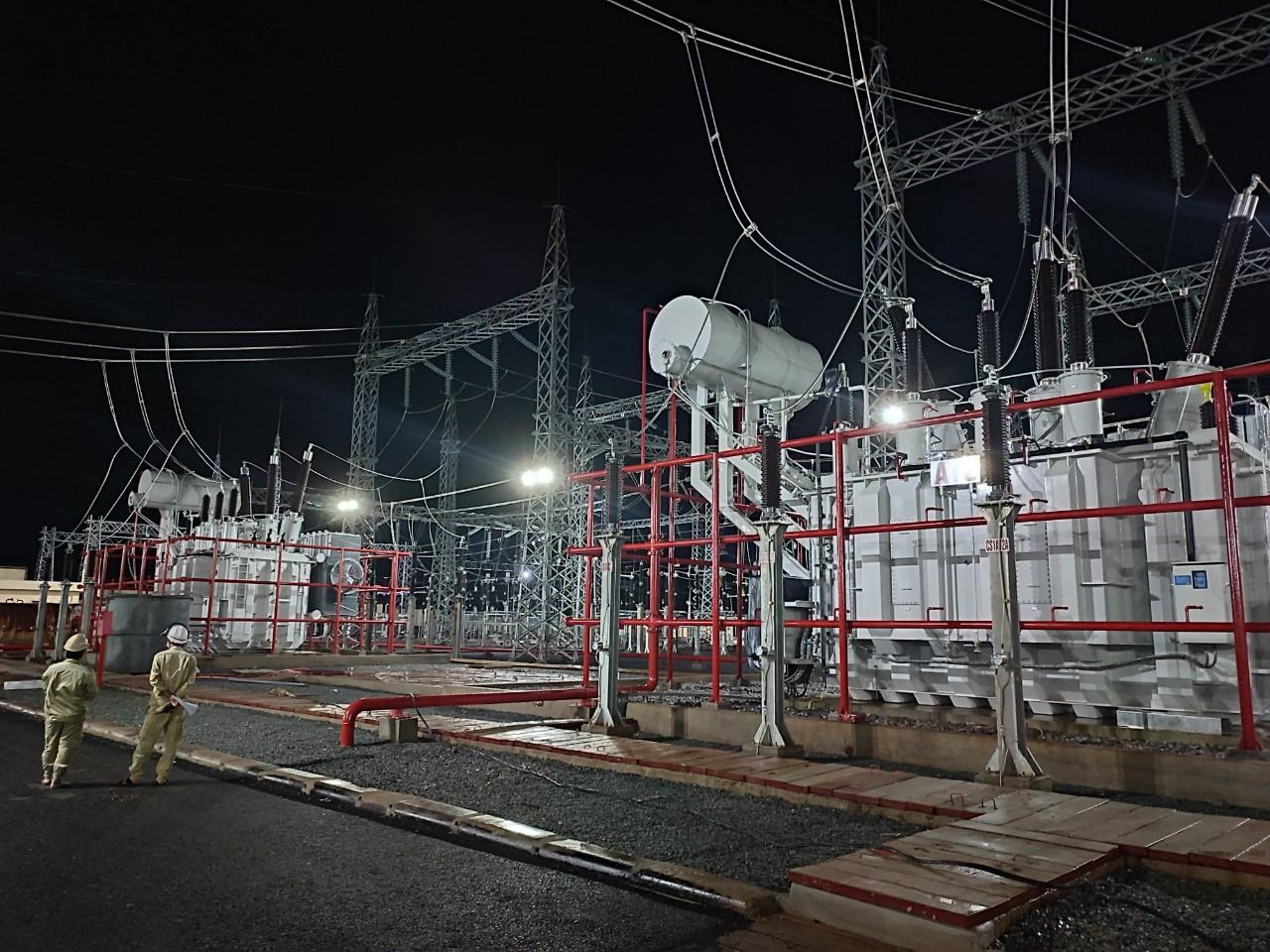 Hoàn thành công trình trạm biến áp 220 kV Lao Bảo