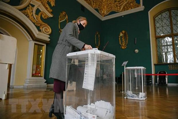 Nga: Tỷ lệ cử tri đi bầu cử Duma Quốc gia vượt ngưỡng 31%