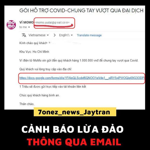 Ví MoMo phát cảnh báo chiêu trò lừa đảo bằng email, khuyến cáo 3 điều cần lưu ý tới người dùng
