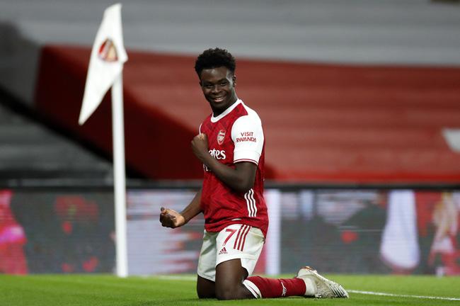 Liverpool gây sốc với Bukayo Saka? - ảnh 1