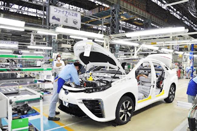 Nhật Bản cắt giảm sản lượng ô tô do tình trạng thiếu chip toàn cầu