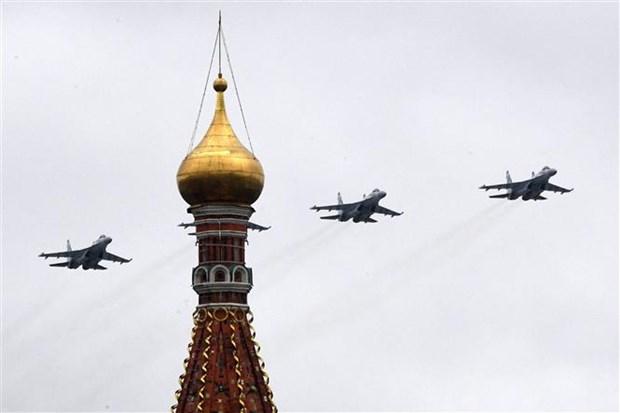 Nga điều Su-35S chặn máy bay ném bom chiến lược Mỹ ở Thái Bình Dương - ảnh 1