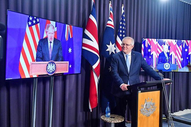 """Australia nói thỏa thuận với Mỹ, Anh không phải """"liên minh quốc phòng"""""""