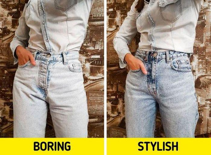 8 sai lầm khi mặc quần jeans 90% phái đẹp mắc phải