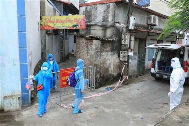 Hà Nội: Cách ly tạm thời khu dân cư Hà Đông có ca mắc COVID-19 - ảnh 1