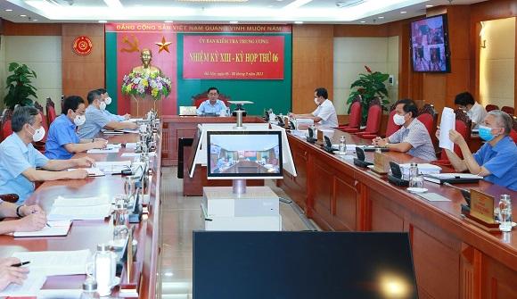 Giảm án sai quy định cho Phan Sào Nam, nhiều cán bộ, đảng viên tòa án Quảng Ninh bị UBKTTƯ kỷ luật