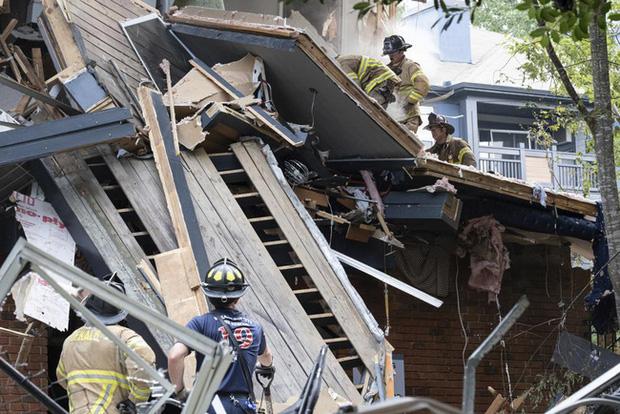 Mỹ: Nổ lớn làm rung chuyển tòa nhà chung cư ở ngoại ô Atlanta, khiến 4 người bị thương