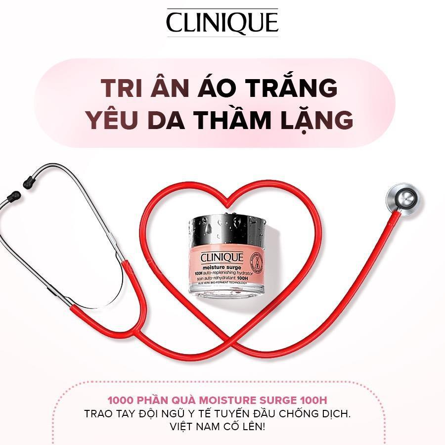 Nhãn hàng Clinique Việt Nam trao tặng 1000 sản phẩm chăm sóc da – tri ân lực lượng tuyến đầu chống Covid-19