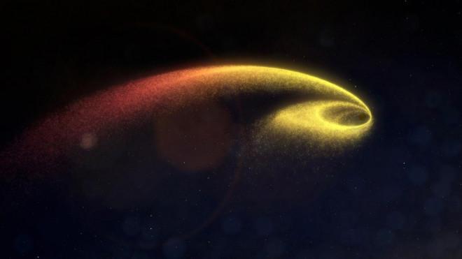 Cuộc gặp chết chóc giữa lỗ đen tham lam và ngôi sao thiếu may mắn