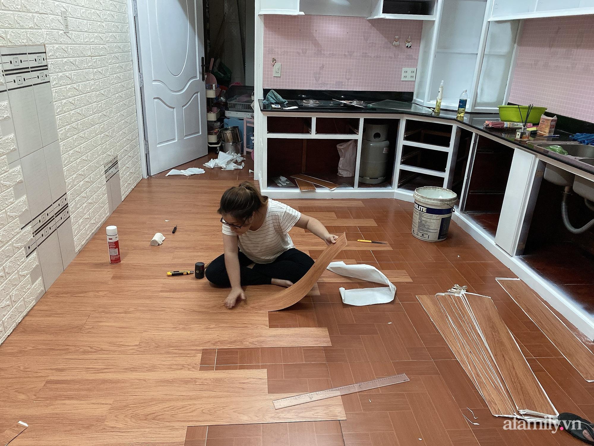 Mẹ Đà Lạt tự cải tạo căn bếp chật hẹp với chi phí 20 triệu đồng và cái kết