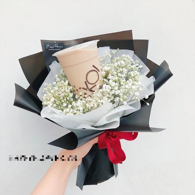 """""""Hoa polymer"""" và loạt bó hoa làm quà tặng cho chị em phụ nữ ngày 20/10, nhìn qua ai cũng thích mê"""