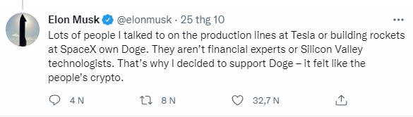 """Elon Musk hé lộ lý do thực sự của việc ủng hộ Dogecoin, hóa ra nó """"nhân văn"""" hơn bạn nghĩ"""