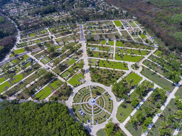 """Cận cảnh khu nghĩa trang tại Bình Dương – nơi sẽ an táng vợ cũ ông Dũng """"lò vôi"""": Quy mô hoành tráng, mức giá lên tới hơn 8.7 tỷ/khu lăng mộ"""