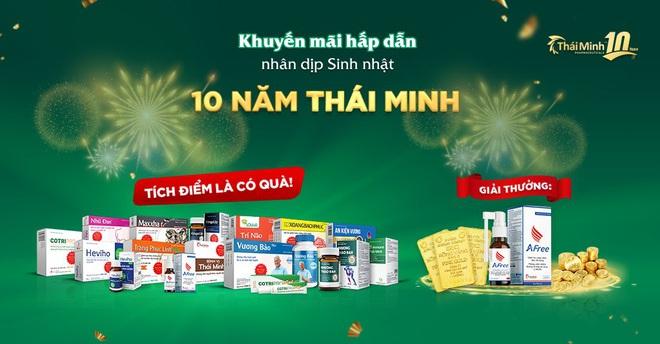 Khuyến mãi tháng 10: Sinh nhật Thái Minh - rinh vàng 9999 - ảnh 1
