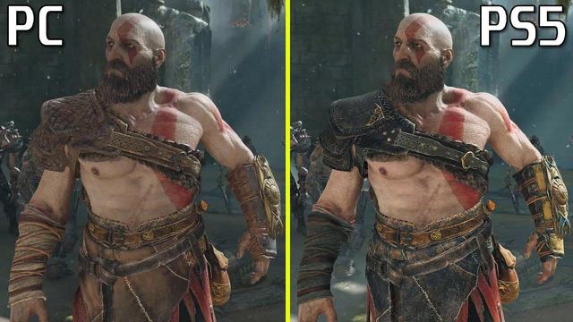 So sánh God of War trên PC và PS5, ở đâu đẹp hơn?