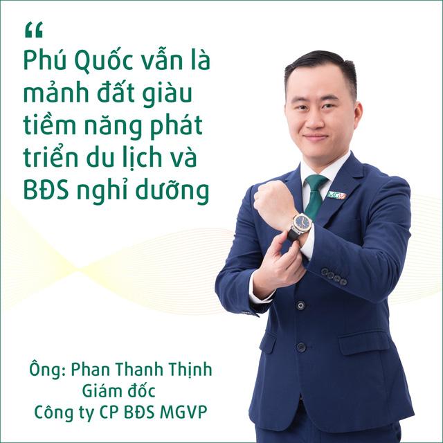 CEO MGV.P và dấu ấn trên thị trường BĐS nghỉ dưỡng cao cấp Phú Quốc