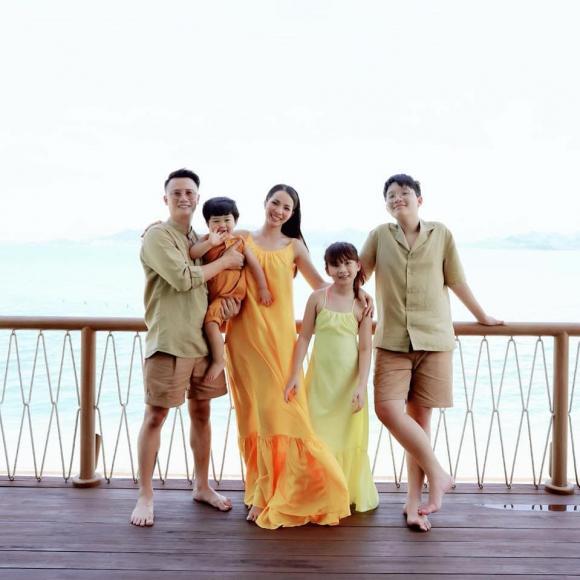 Bà xã Hoàng Bách bật mí bí quyết đẻ ba con rồi vẫn xinh đẹp, vóc dáng thon gọn - ảnh 1