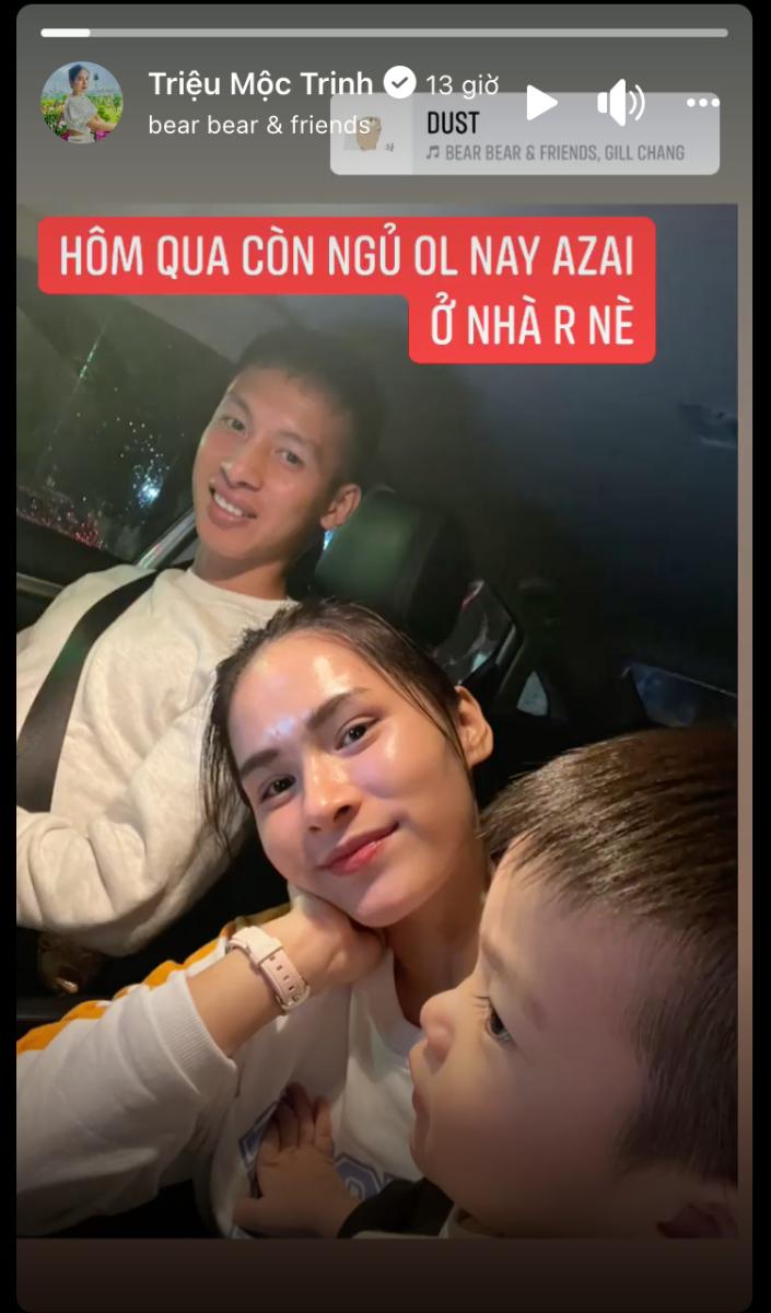 Sao Hà Nội cùng vợ con vi vu Thủ đô đón rét