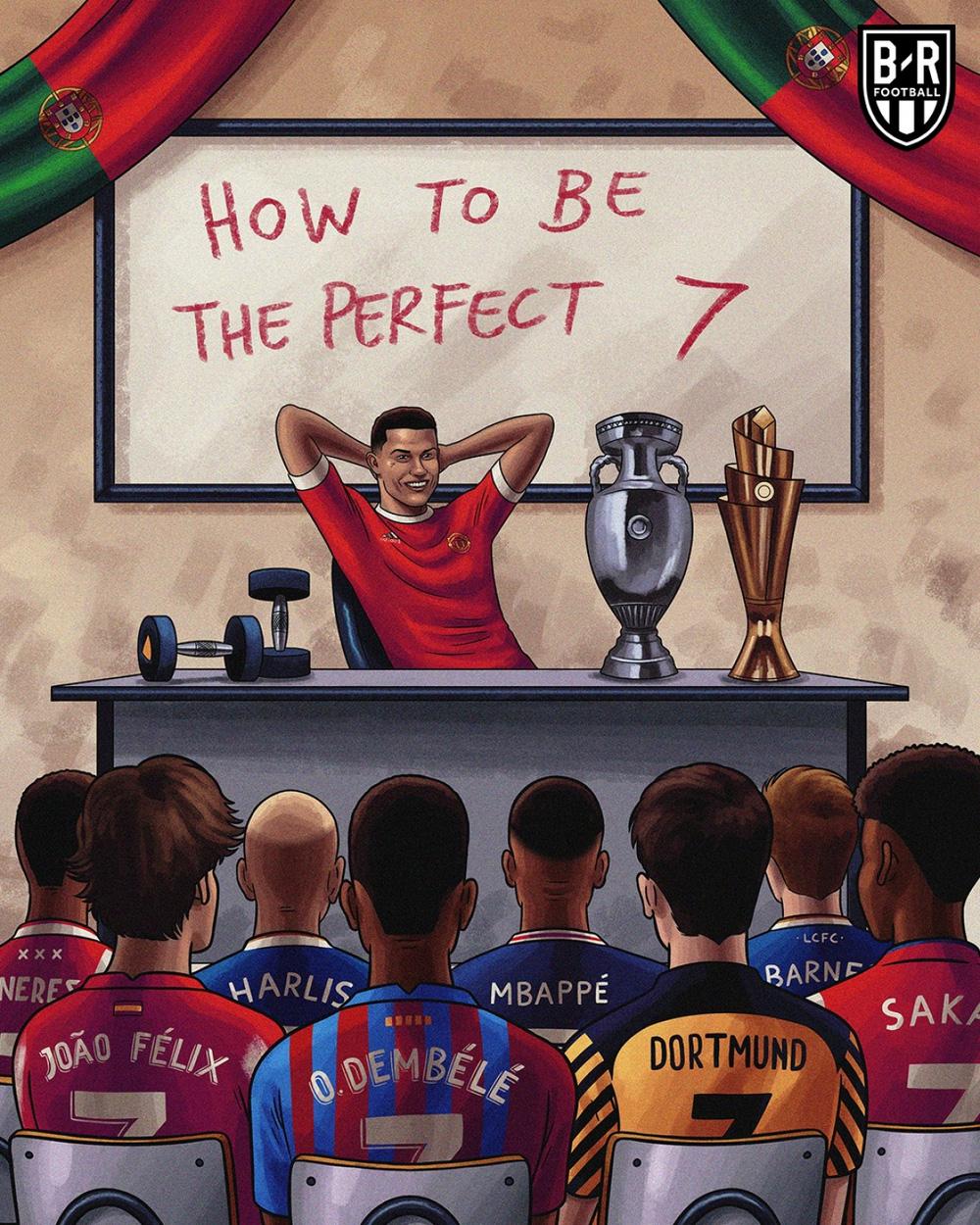 Biếm hoạ 24h: Cristiano Ronaldo mở lớp học đặc biệt - ảnh 1