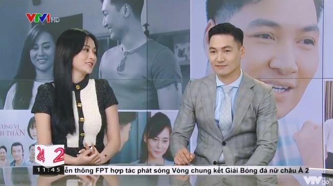 Phương Oanh – Mạnh Trường hội ngộ trước tập cuối Hương vị tình thân: Nói về hành động đút tay túi quần và kết phim