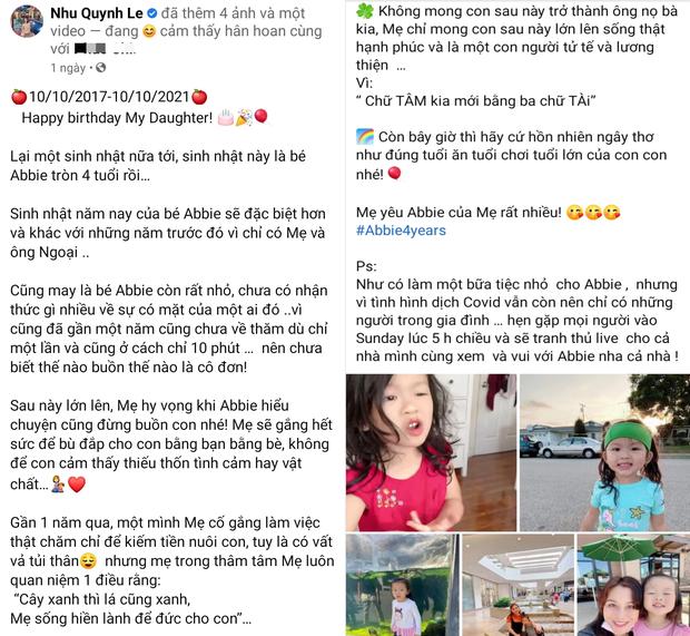 Quỳnh Như ''đá xéo'' Hoàng Anh trong ngày sinh nhật con gái, tiết lộ chồng cũ chưa từng thăm con trong 1 năm qua dù chỉ ở cách 10 phút - ảnh 1