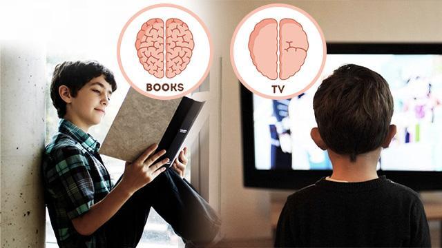 Đến tuổi đi học, những đứa trẻ tiếp thu kiến thức bằng cách xem TV và ĐỌC SÁCH có 3 sự khác biệt rõ ràng: Phụ huynh đọc xong không khỏi bất ngờ