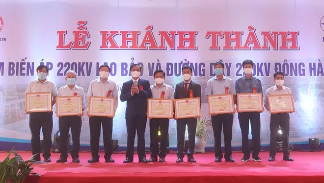 Khánh thành Công trình Trạm biến áp 220kV Lao Bảo và Đường dây 220kV Đông Hà – Lao Bảo