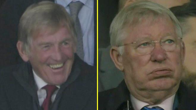 Phản ứng thẫn thờ của Sir Alex khi MU thua thảm Liverpool