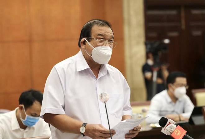 """Ông Lê Minh Tấn: """"Tôi không phát biểu chưa có ai thiếu ăn, thiếu mặc vì dịch""""!"""