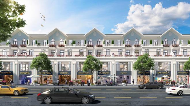 Nhà phố thương mại Hoàng Sơn: Lợi ích nhân đôi – Sinh lời bền vững