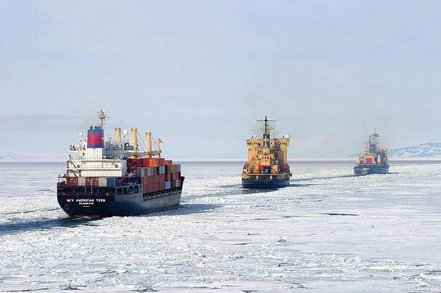 Nga đặt mục tiêu phát triển tuyến đường biển phía Bắc - ảnh 1