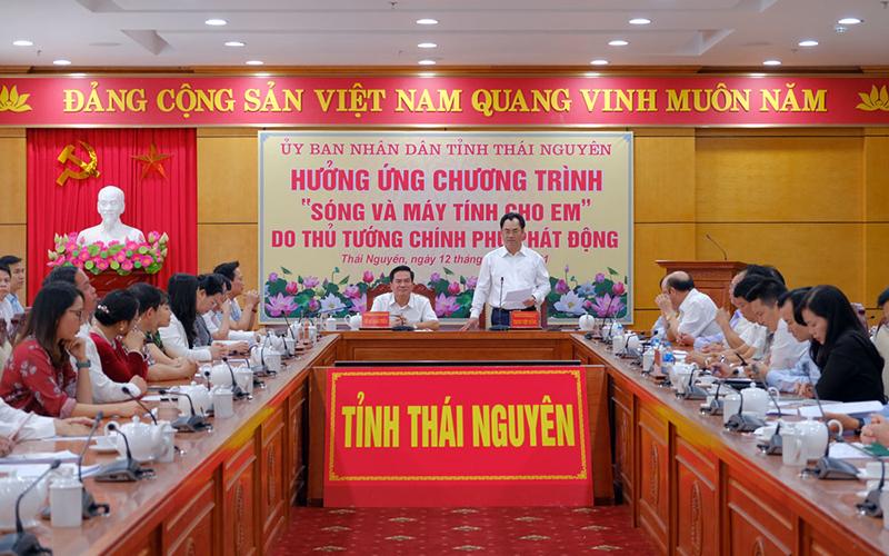 Thái Nguyên không để học sinh nào thiếu thiết bị học tập