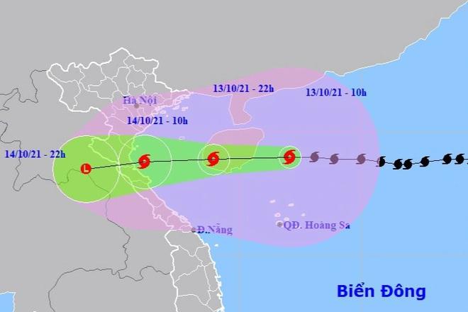 Miền Bắc, miền Trung mưa rất to kéo dài do ảnh hưởng bão số 8 - ảnh 1