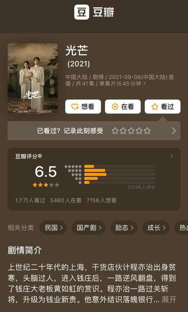 """Rating thấp nhì lịch sử, phim của Trương Tân Thành lại mở điểm cao bất thường, bỏ xa """"thảm họa"""" nhà Triệu Lộ Tư?"""