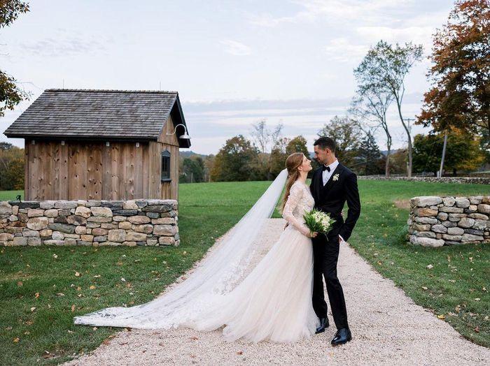 Váy cưới của con gái Bill Gates