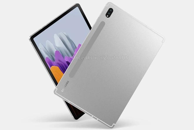 Rò rỉ thiết kế đỉnh cao và cấu hình ngon của dòng Galaxy Tab S8 5G