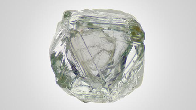 Lần đầu tiên phát hiện kim cương đổi màu cực hiếm - ảnh 1