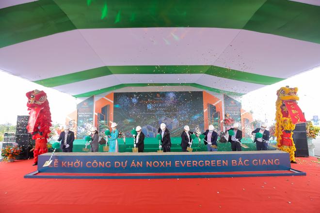 Khởi công dự án nhà ở xã hội Evergreen Bắc Giang – Giải quyết bài toán nhà ở cho người lao động tỉnh Bắc Giang
